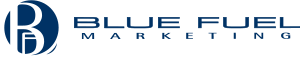 Blue Fuel Marketing | Promotional Products Mukwonago, Milwaukee Logo